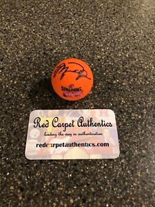 Michael Jordan Autographed Signed Golf Ball COA Card Label Red Carpet Authentics