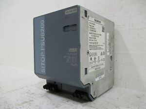 Siemens 6EP1336-3BA10 SITOP PSU8200 Power Supply Output 24-VDC 20A