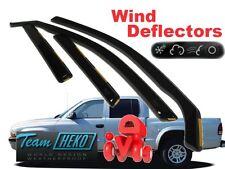 FORD RANGER 4D 2007 - 2011  Wind deflectors 4.pc  HEKO  15266