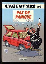 AGENT 212 (L')  n°8 Pas de panique   KOX / CAUVIN   Editions DUPUIS   EO 1987