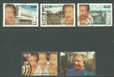 Zambia 1992 Queen Elizabeth II 40th Anniv--Attractive Topical (561-65) fine used