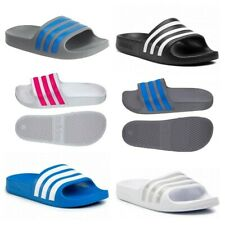 Adidas Boys Sliders Girls Kids Adilette Aqua Slides Flip Flops Sandals Shoes