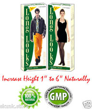 Long Looks Height Increase Gain Herbal Capsules Original Pills Growth Taller