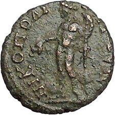 CARACALLA 198AD Nicopolis ad Istrum DIONYSUS wine god Ancient Roman Coin i41376
