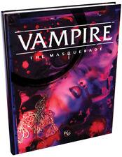 Vampire: The Masquerade 5th Edition hardocver rulebook by Modiphius MUH051571