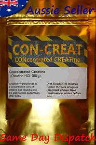 CONcentrated CREATine HCL 200 grams - CONCRET hydrochloride