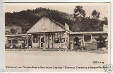 RPPC - Bryson City, NC - Pow Wow Grounds at Reservation Trading Post - 1930s