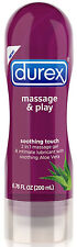 Durex Massage & Play 2 in 1 Soothing Touch 6.7oz Aloe Vera - Personal Lubricant