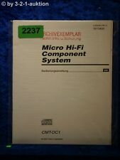 Sony Bedienungsanleitung CMT DC1 Component System (#2237)