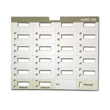 10 Avaya Lucent Partner Euro Style 18D 18 Btn Display Phone Desi Paper