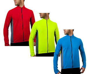 Men's Formaggio Whistler Long Sleeve Biking Fleece Cycling Jersey Cyclist Gear