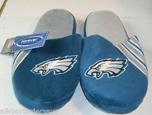 NFL Philadelphia Eagles Stripe Logo Slide Slippers Size Men Small by FOCO