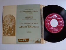 "ARTURO TOSCANINI / WAGNER, Les maitres chanteurs, Siegfried 7"" EP VDSM 7 ERF 114"