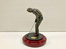 Danbury Mint Arnold Palmer Statue The Winning Putt Golf Figurine Sculpture