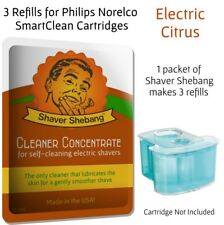 Shaver Shebang Cleaning Concentrate for all Philips Norelco Jet Clean Systems, C