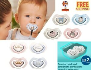 2x Baby Silicone Symmetrical Dynamic Soother 0-6 6-18 +18m Canpol Babies