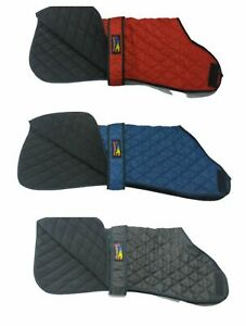 Greyhound Waterproof Winter Cold Warm Red Snood Collar Quilt Coats/Jacket