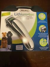 BRAND NEW Wahl Clipper Lithium Ion Cordless Pet Trimming/Grooming Kit 58147
