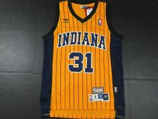 New Reggie Miller #31 Indiana Pacers Throwback HWC Swingman Jersey Yellow