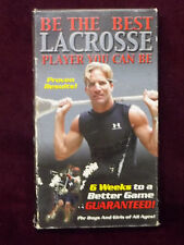 Be The Best Lacrosse Player You Can Be 2002 VHS Video Jim Beardmore Instruction