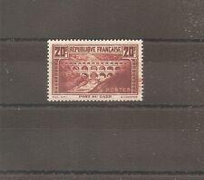 TIMBRE FRANCE FRANKREICH PONT DU GARD 1929 N°262 NEUF* MH