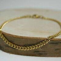 Figarokette gold oder rosé Ø1,5mm 45cm silber gewunden gedreht