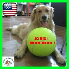 Dog Ball 9.5 Inch Giant Tennis Ball Pet Dogs Chew Toy Big Inflatable 24CM Jumbo