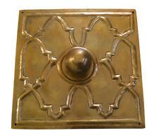 "New 5"" * 5"" Egyptian Moroccan Handcrafted Bronze finish Brass Door Knob Handle"