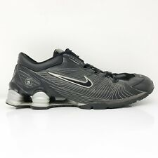 Nike Mens Shox Laser 313777-006 Black Running Shoes Lace Up Low Top Size 11