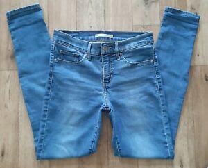 Ladies Levis 311 Shaping Skinny Jeans size 8 Waist 26 leg 30 Levi jeans