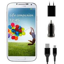 Kit Casa Auto Caricabatterie caricatore Cavo per Samsung Galaxy S4 Mini i9190