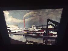 "Charles Sheeler ""American Landscape"" Modern Art 35mm Glass Slide"