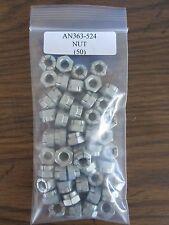 AN363-524 Self-Locking Steel Hexagon Nut 5/16-24 Alt. to MS21045-5 - Lot of 50