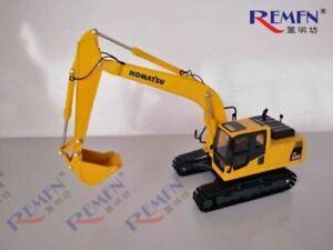 Komatsu PC220-8 1/43 Hydraulic Excavator Model Metal Track Die-casting Car Gift