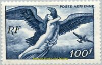 EBS France 1947 Airmail - Aegina abducted by Zeus YT PA18 MNH**