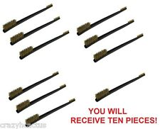 Brass Cleaning Brush Brushes 10 Pieces Gun Rifle Pistol Cleaning DOUBLE ENDED!