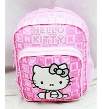 """NWT Hello Kitty 10"""" Mini Backpack Bag Pink Newest Style Licensed Sanrio"""