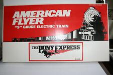 American Flyer 6-49600 Pony Express UP set + 6-48119 UP PB-1 w/Railsounds
