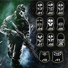 Call of Duty 10 Ghost Balaclava Motorcycle Cycling Game Airsoft Full Face Mask