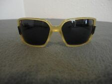 Vintage GF Ferre Sunglass Frames Yellow & Black FF54501 62 14 120 Made in Italy