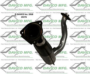 Catalytic Converter-Exact-Fit Front Davico Exc CA fits 01-04 Ford Escape 2.0L-L4