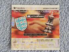 1997 - FA CUP FINAL MATCH TICKET - CHELSEA v MIDDLESBROUGH - ORIGINAL