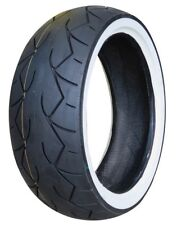 VEE RUBBER WHITE WALL REAR TIRE 200/55-17 HARLEY SOFTAIL FXSTC NIGHT TRAIN FXST