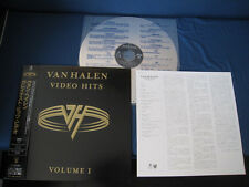 Van Halen Video Hits Japan Laserdisc OBI Eddie David Lee Roth Sammy Hager LD