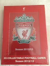 Liverpool Football Club - Season 2012/13 Football Cards - Full Set of 33 Cards