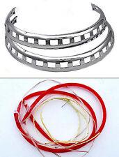 Rotor light rings, Goldwing GL1500 GL1800 Red
