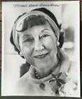 1970 Mamie Doud Eisenhower Signed Photo First Lady 8x9.5 Black and White No COA