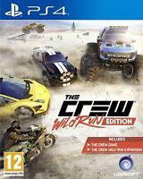 The Crew Wild Run Edition (PS4) - PRISTINE - Super FAST & QUICK Delivery FREE