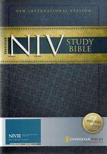 NIV Study Bible, Zondervan, Hardback, New