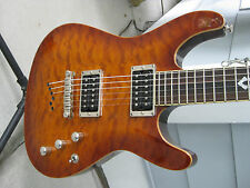 Ibanez SZ520QM Electric Guitar. Quilt top.Set neck. Very Nice. With soft bag.